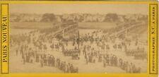 Saint-Cloud France Stereo N. C. Paris Vintage Albumine ca 1860