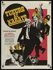 MAN FROM UNCLE The KARATE KILLERS French Moyenne movie poster 23x32(60x80)