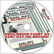 ☝Mega Ebook Paket 24 KARL MAY 96 eBooks Western Winnetou Old Shatterhand PDF Neu