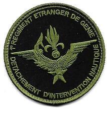 LEGION    GENIE   1°REG     DET  INTERVENTION  NAUTIQUE      patch  B.V. scratch