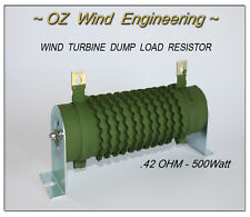 Wind Turbine Dump / Diversion Load .42Ohm 500W Resistor