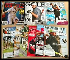 *(9) Sports Illustrated Magazines College Sporting News Golf Basketball Football