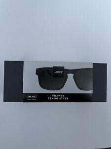 Bose Frames Tenor Rectangular Bluetooth Audio Sunglasses - Black -CSS0478