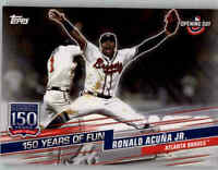 2019 Topps Opening Day 150 Years of Fun Insert #YOF-24 RONALD ACUNA JR. Braves