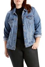 Levi's Plus Original Trucker Jacket Women's 3x Authentic (779940053)