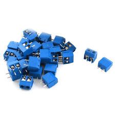 30 pezzi 5,08 mm passo 2 pin connettori PCB vite terminale del connettore d G2W1