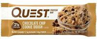 Quest Nutrition Chocolate Chip Cookie Dough Protein Bar Low Carb - 12 Bars 3/20