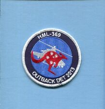 HMLA-369 GUNFIGHTERS OUTBACK DET  13 USMC MARINE CORPS Helicopter Squadron Patch