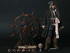 HOT TOYS DX06 PIRATES OF THE CARIBBEAN CAPTAIN JACK SPARROW SIDESHOW 1/6 figure