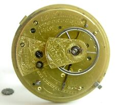 NATHANIAL DUNVILE STOCKPORT PATENET ENGLISH LEVER POCKET WATCH MOVEMENT  F25