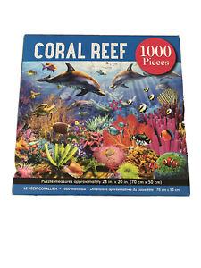 Coral Reef 1000 Piece Puzzle