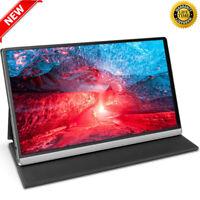 "2020 4K Portable Monitor UHD IPS 15.6"" Gaming HDR Screen Display USB C 3840x2160"
