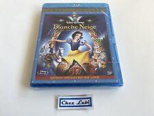 Blanche Neige Et Les Sept Nains (Disney) - Film - BluRay + DVD - FR/EN - Neuf