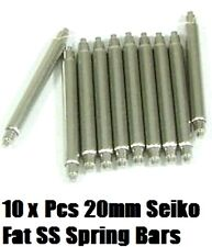 20mm FAT SS SPRING BARS SEIKO 6105/6217 & 4205/7S26 MID DIVER'S WATCH Z20 STRAP
