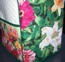 Zinnias Floral Quilted Cover for KitchenAid Mixer NEW