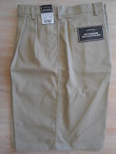 NWT OUTDOOR OUTFITTERS  44 Waist  PLEATED FRONT SHORTS Stone