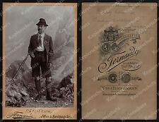 orig. CDV-Foto Porträt Bezirksamtsassessor Berchtesgaden Leutner Fernande 1885