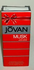 JOVAN MUSK Aftershave Cologne For Men 0.5 fl oz/15 mL New In Box
