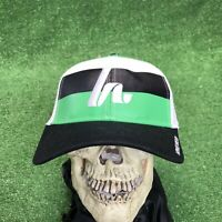 Howies Hockey Green White Black SnapBack Hat Cap