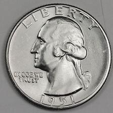 1951-d Washington Quarter.   B.U. (INV.A)