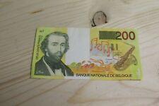 Billet de banque - BELGIQUE - 200 F