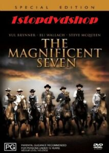 The Magnificent Seven DVD Yul Brynner Brand New and Sealed