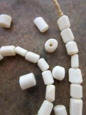 Beads [64526] African White Bone