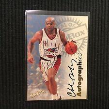 1997-98 SKYBOX AUTOGRAPHICS CHARLES BARKLEY *ON CARD SP AUTO*  VERY RARE