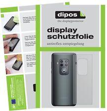 5x Schutzfolie für Motorola One Zoom Rückseite Display Folie matt