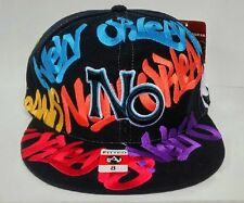 New Orleans-Shoe Polish Grafitti- FITTED HAT 8 -COOPERTOWN COLLECTION  FREE SHIP