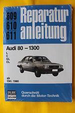 Audi 80 Typ81 B2  1.3l ab 1980   Reparaturanleitung Handbuch