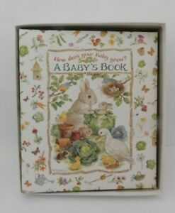 NEW Gibson How Does Your Baby Grow Baby Record Book, In Original Box
