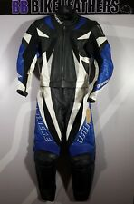 Dainese Monza Lady Two Piece Motorcycle Leather Suit - EU 42 / UK 10 - Blue