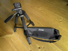 ZOMEI 58'' Compact Light Weight Travel Portable Aluminum Camera and Phone Tripod