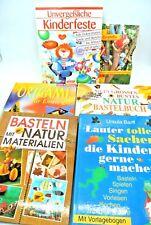 6 Bücher Paket Konvolut Basteln für Kinder Mädchen (K 7)| Gebraucht
