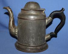 Antique 19c Griffiths & Browett Birmingham Metal Kettle Teapot