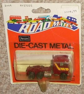 Vintage 1979 Sears Road Mates Pacer Cabover Red Truck Big Rig MOC 1970's Toy