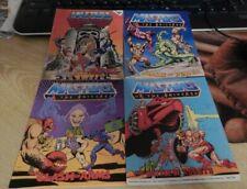 MOTU Mini Comics NM Lot Of 4 1982/83/84 He-Man