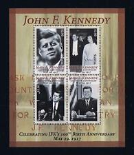 2016 Samoa JFK Postage Stamp Souvenir Sheet