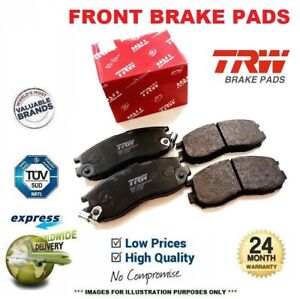 TRW FRONT BRAKE PADS SET for HONDA PRELUDE IV 2.2 VTi-R 1994-1997