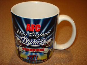 Vintage 2007 NEW ENGLAND PARTIOTS   SUPER BOWL Coffee Mug Cup  MINT BRAND NEW