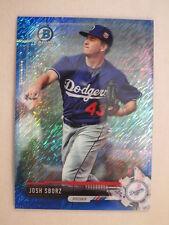 2017 Bowman Chrome Blue Shimmer Refractor Josh Sborz Dodgers 133/150