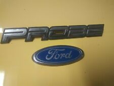 Ford Probe Emblem With Ford Logo