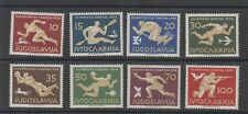 YUGOSLAVIA - 1956 Melbourne Olympics - Mi 804/11 mint hinged (2079)
