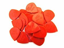 Dunlop Guitar Picks  Jazz III   Nylon  Sharp Tip  Red  24 Pack  47R3N