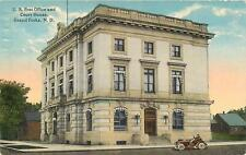 GRAND FORKS, North Dakota  ND   Post Office & COURT HOUSE  ca 1910s   Postcard