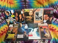 Brand New Lot Of 9 VHS Tapes - Brand New VHS - Reseller Lot - Mixed Lot Of VHS
