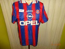 "FC Bayern München Original Adidas Heim Trikot 1995-1997 ""OPEL"" Gr.S"