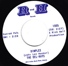"""DEL-RAYS Dimples / Fortune Teller B&H 7"""" 45 Re. Tuff Wigged Out 1965 R&B HEAR"""
