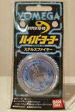 Yomega Stealth Fire Performance Yoyo 1998 Rare Collectible BNIP Clear/Blue